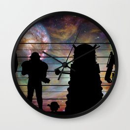 Doctor Who: The Whovian Suspects Wall Clock