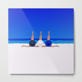 Enjoy Summer Metal Print