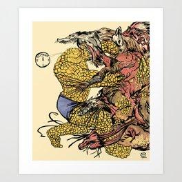 The Thing Vs. The Thing Art Print