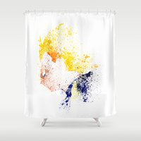 prince Shower Curtains featuring The Prince by Arian Noveir