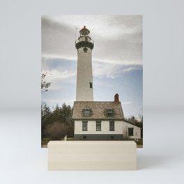 Presque Isle Lighthouse New Painterly Mini Art Print