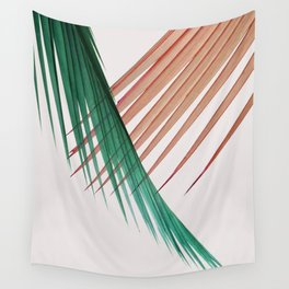 Palm Leaves, Tropical Plant Wall Tapestry