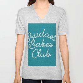 Badass Babes Club Unisex V-Neck