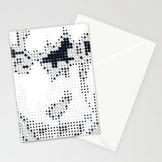 Geometric Face Stationery Cards
