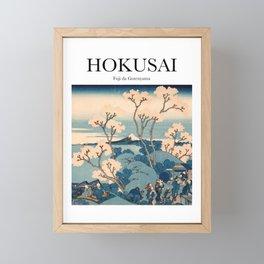 Hokusai - Fuji da Gotenyama Framed Mini Art Print