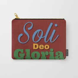 Soli Deo Gloria #3 Carry-All Pouch