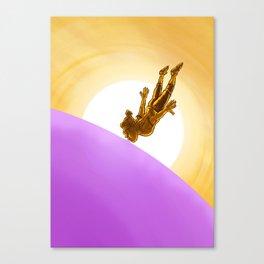 Bubblegum Dawn Canvas Print