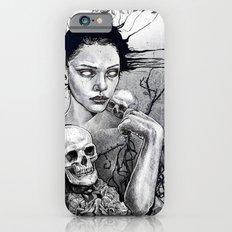 Skull Girl Nouveau iPhone 6s Slim Case