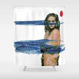 """""""Codename: Susan Glenn."""" Pt.12 Shower Curtain"""