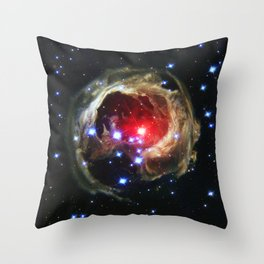 Monocerotis Throw Pillow