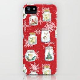 Christmas Jars iPhone Case