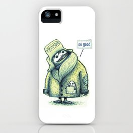 I love the winter sun iPhone Case