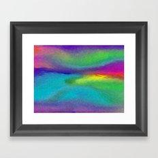 Unintentional Landscape Framed Art Print