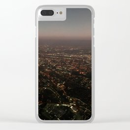 Above San Jose Clear iPhone Case
