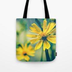 Yellow Sunshine Tote Bag