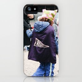 Children at the Women's March iPhone Case