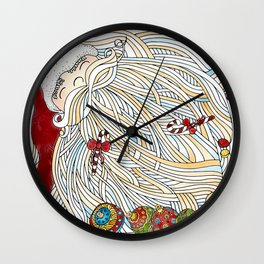 Santa Claus Wall Clock
