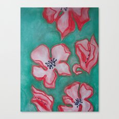 Cherry Blossoms Falling (For You) Canvas Print