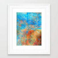 contemporary Framed Art Prints featuring Contemporary Dance  by Fernando Vieira