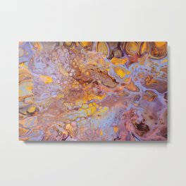 Metal Texture Surface 56 Metal Print
