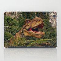 t rex iPad Cases featuring T Rex by Shalisa Photography