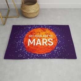 SPACE EXPLORATION 03, Planet Mars Rug