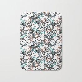 Bike Bananza Summer colors Bath Mat