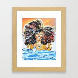lost without u Framed Art Print