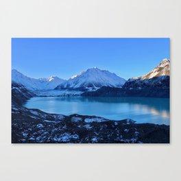 Tasman Glacier Valley Canvas Print