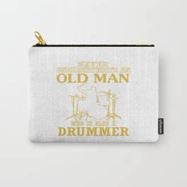 Old Man - A Drummer Carry-All Pouch