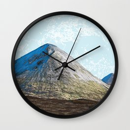 When the whole world is in front of you Wall Clock