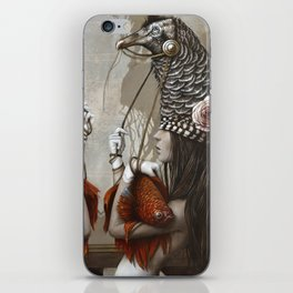 Les Cavalières Blanches iPhone Skin