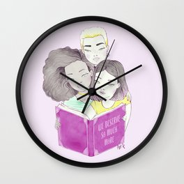we deserve so much more Wall Clock
