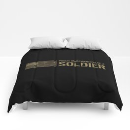 Proud Grandparents of a Soldier Comforters