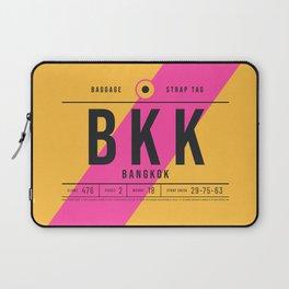 Luggage Tag E - BKK Bangkok Suvarnabhumi Thailand Laptop Sleeve