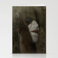 mask Stationery Cards featuring Mask by Judith Lee Folde Photography & Art