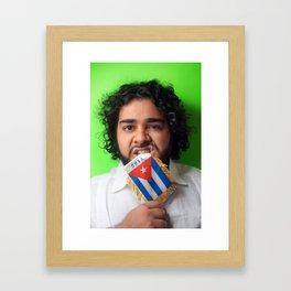 Karla Croqueta Cubana Framed Art Print