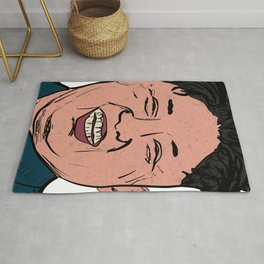 Kim Jong Un Smiling Leader Show Me Your Rocket Rug