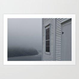Edge of Canada at Cape Spear Art Print