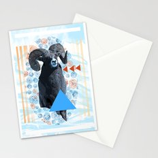 bighorn sheep Stationery Cards
