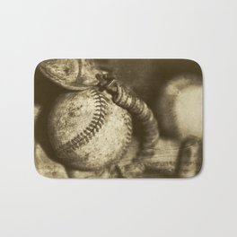 Vintage Baseball Memories 2 Bath Mat
