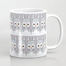 Silver Grey Bunny Rabbit - Super Cute Animals Coffee Mug