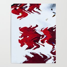 Red Ribbons Poster