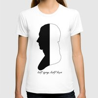 jane austen T-shirts featuring Jane Austen Persuasion Captain Wentworth  by Corrie Jacobs