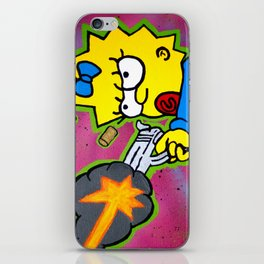 Don't Mess With Baby iPhone Skin