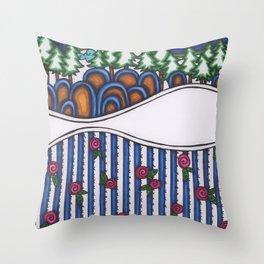 rosie hill Throw Pillow