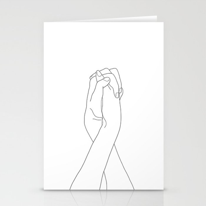 Never Let Me Go II Stationery Cards