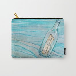 Message In A Bottle * Daydreaming Along the Shore Carry-All Pouch