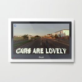 The Myth of Cars 01 Metal Print