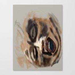 the screamer Canvas Print
